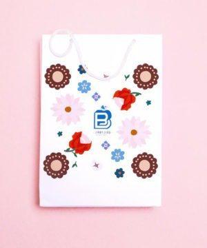 pochette cadeau-fabricatiob artisanale--fabrication française-fleurs