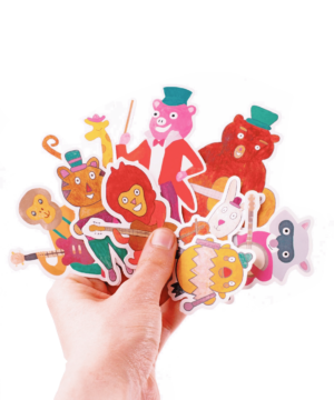 Autocollants stickers animaux