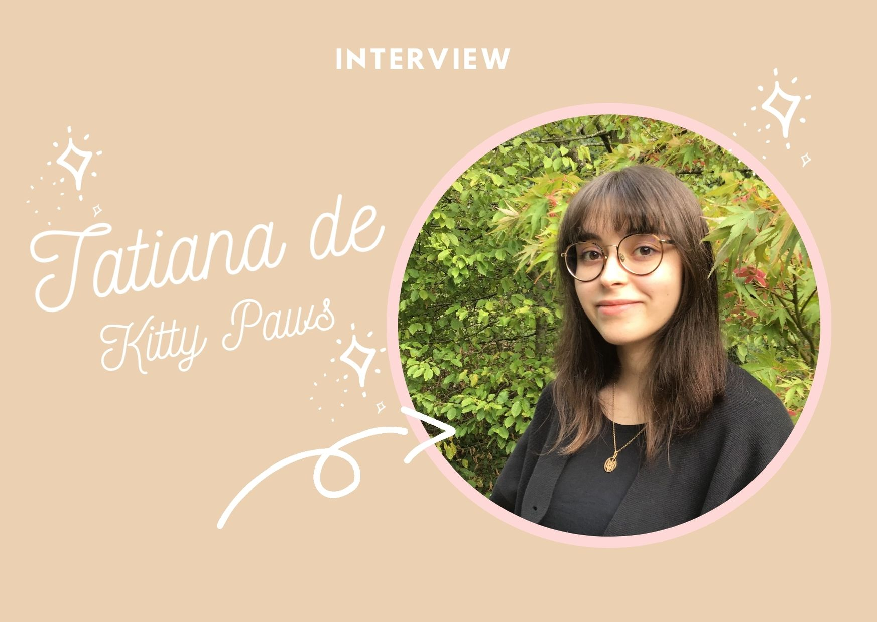Interview créatrice Kitty Paws