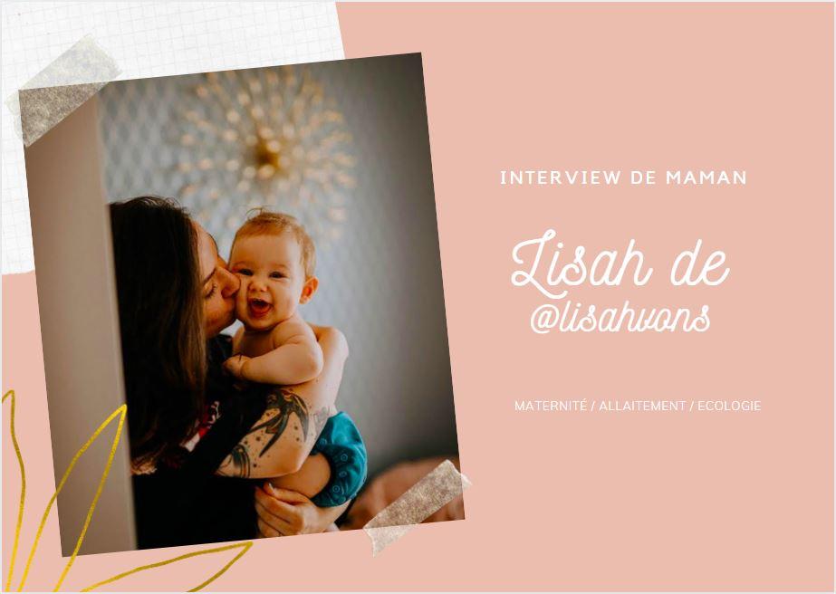 Interview de mamn lisahvons