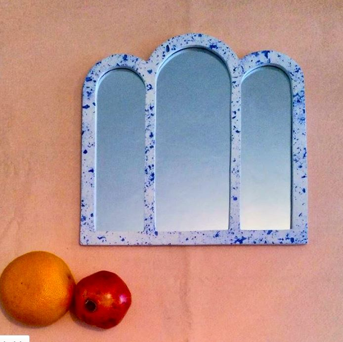 Miroir TERRAZZO ovale, made in France