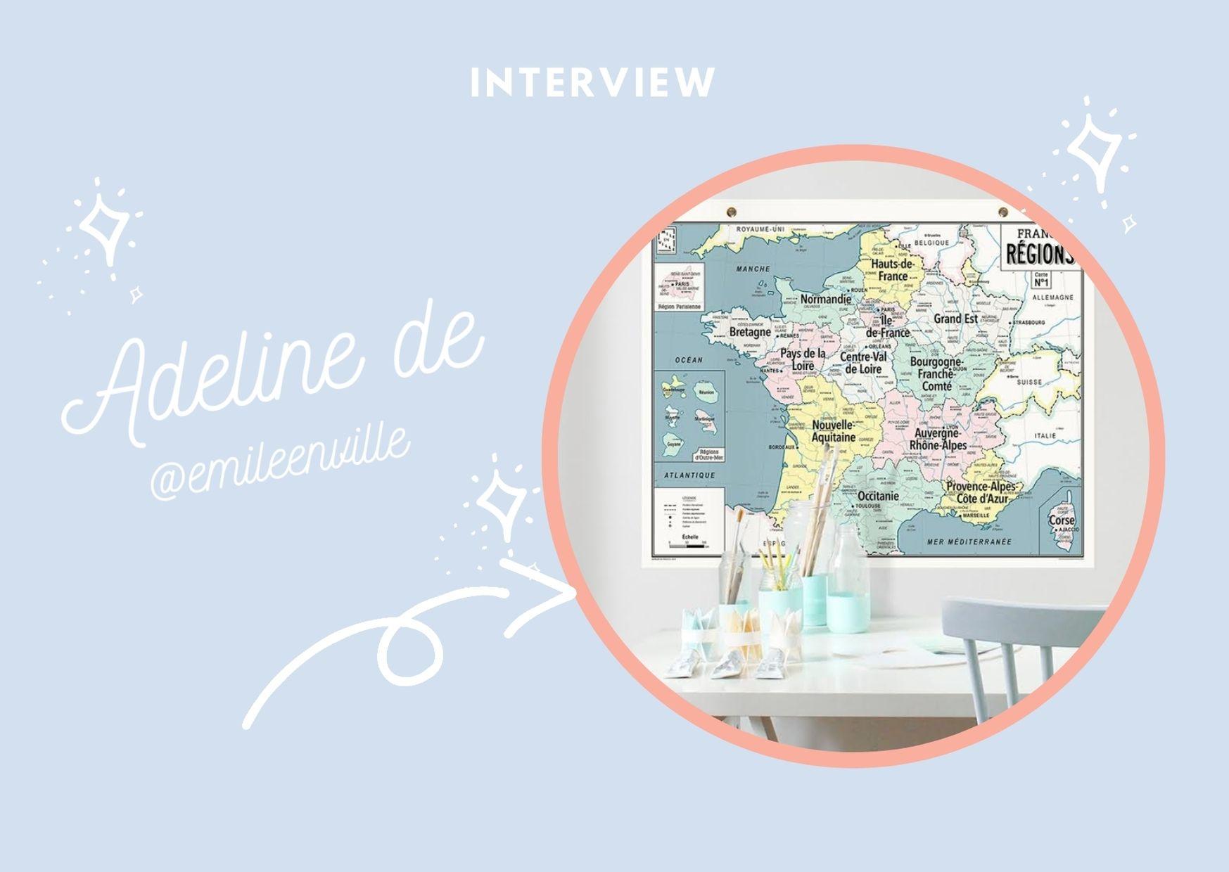 Interview Entreprenariat féminin : éditrice de cartographies rétro