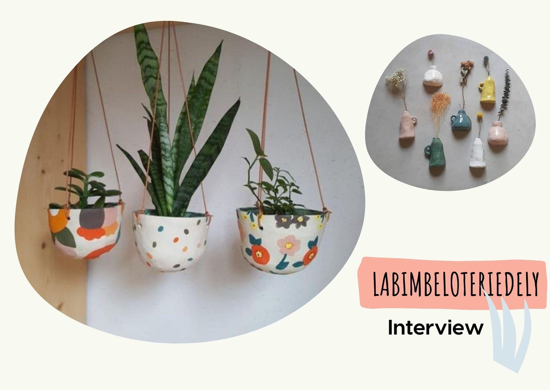 Interview créatrice céramiste labimbeloteriedely