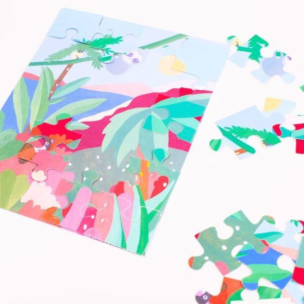 Puzzle stickers à partir de 5 ans