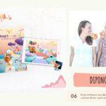 Interview, Dipongo l'application pédagogique